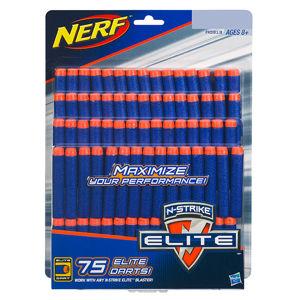 Hasbro Nerf Elite náhradní šipky 75 ks