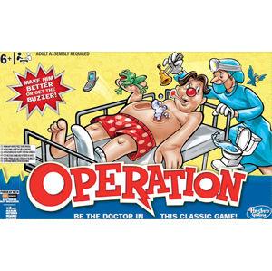 Hasbro Spol. hra pro děti Operace