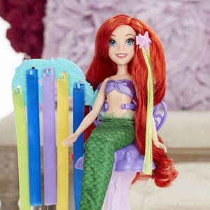 DPR Panenka s extra dlouhými vlasy a doplňky (Ariel/Locika) assort