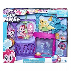 Hasbro My Little Pony Svítící podmořský hrací set s bublifukem