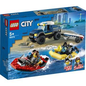 LEGO CITY Přeprava člunu elitní policie