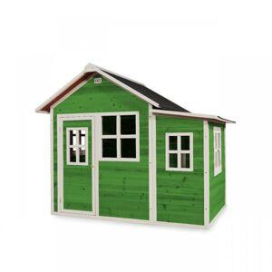 EXIT TOYS  Zahradní cedrový domeček Exit Loft 150 zelený