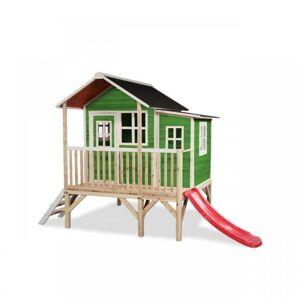 EXIT TOYS Zahradní cedrový domeček Exit Loft 350 zeleny