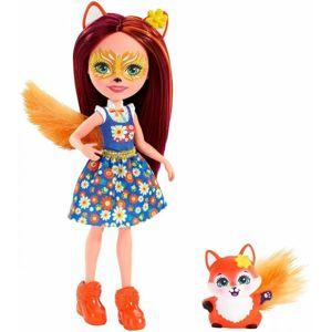 Mattel Enchanimal panenka se zvířátkem, více druhů