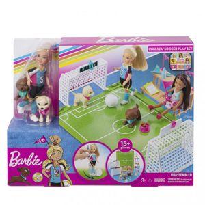 Mattel Barbie Chelsea Fotbalistka herní set