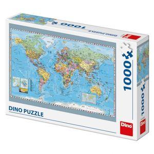 Politická mapa světa 1000D
