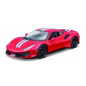Bburago 1:24 Ferrari  TOP 488 Pista (red)