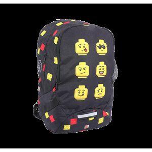 LEGO Faces Black - školní batoh