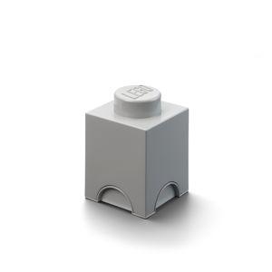 LEGO úložný box 1 - šedá