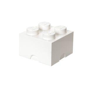 LEGO úložný box 4 - bílá