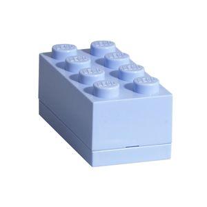 LEGO Mini Box 46 x 92 x 43 - světle modrá