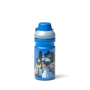 LEGO City láhev na pití - modrá