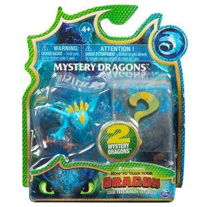 Spin Master Draci 3 sběratelské figurky dvojbalení - Buřina (modrožluty)