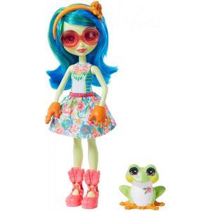 Mattel Enchantimals panenka a zvířátko - Žába