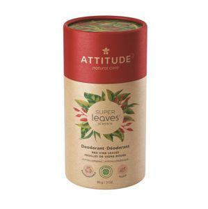 Attitude Přírodní tuhý deodorant červené vinné listy 85 g