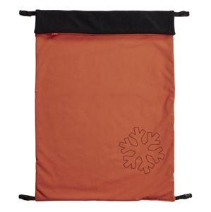 ByBoom Univerzální zimní Softshell Deka Thermo Aktiv 70x100cm, Oranžová/Černá