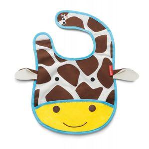 SKIP HOP Zoo Bryndák voděodolný Žirafa 6m+