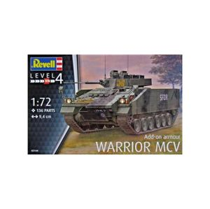 Corfix Plastic ModelKit tank 03144 - Warrior MCV with Add-on armour (1:72)