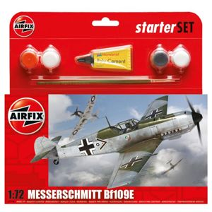 Airfix Starter Set Messerschmitt Bf109E-3 (1:72)