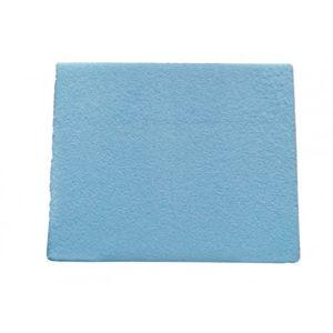 COSING Prostěradlo s membránou / hygienický chránič 120 x 60 cm - modrá