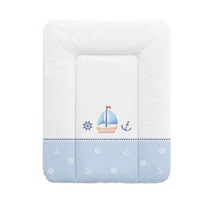 Ceba Baby Přebalovací podložka na komodu měkká 50 x 70 cm - Námořník