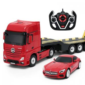 Conquest R/C auto Mercedes-Benz Actros + AMG GT (1:24)