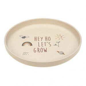 Lässig Plate PP/Cellulose Garden Explorer dětský talíř