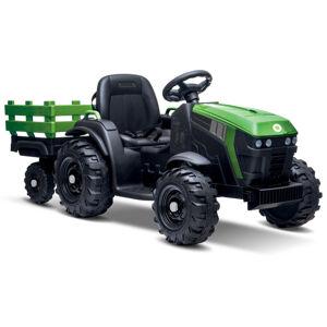 Buddy Toys elektrický traktor s vozíkem