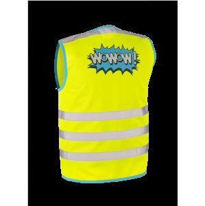WOWOW - dětská reflexní vesta - Wowow Jacket Yellow XS