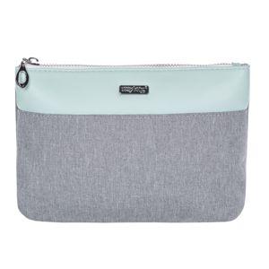 OXY LADY Kosmetická taška plochá - Grey mentol