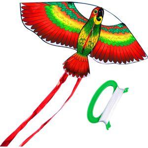 Mac Toys Létající drak- papoušek