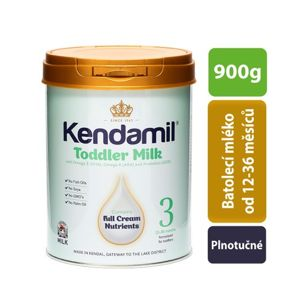Kendamil batolecí mléko 3 (900 g) DHA+ - poškozený obal