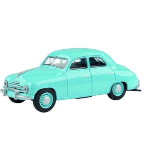 Abrex Škoda 1201 Sedan (1956) 1:43 - Modrá Světlá - poškozený obal
