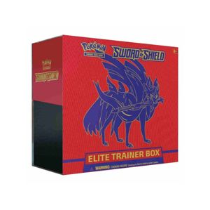 Adc Blackfire Pokémon TCG: Sword and Shield Elite Trainer Box - poškozený obal
