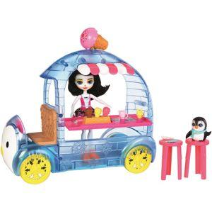 Mattel Enchantimals Zmrzlinový vozík s tučňákem - poškozený obal