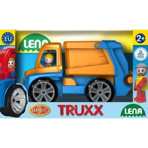 LENA 8404416 Truxx popelář v okrasné krabici - poškozený obal