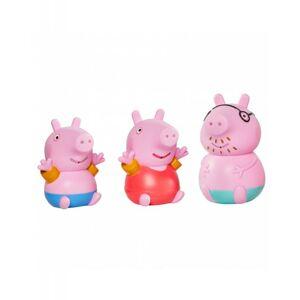 TOOMIES - Prasátko Peppa Pig, tatínek a Tom - stříkající hračky do vody
