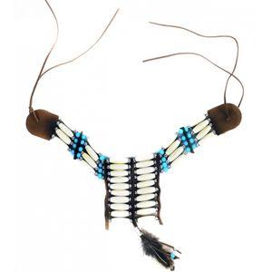 Rappa Náhrdelník indiánský s peřím