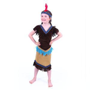 RAPPA Dětský kostým indiánka (M)
