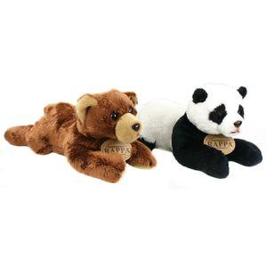 Rappa Plyšový medvěd/ panda ležící