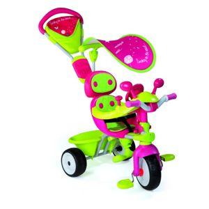 Tříkolka Baby Driver Confort (zelenorůžová)