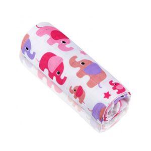 T - Tomi Bambusová osuška, růžoví sloni
