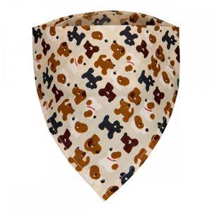 T-TOMI Dětský šátek, dogs / pejsci
