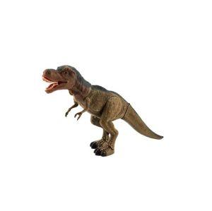 Dinosaurus tyranosaurus chodící  se světlem a zvukem