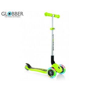 Globber Koloběžka Primo Foldable Lights Lime Green
